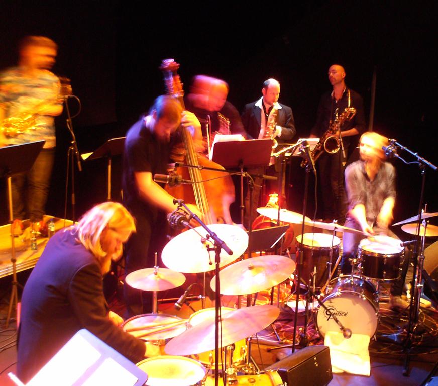 Zanussi 13 live på Nasjonal jazzscene (foto: Hedda H. Okstad)