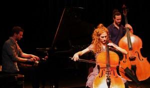 Augur ensemble - Fabian Mueller, Anni Elif Egecioglu, Kaspar von Grüningen (Foto: Svein Magnus Furu)
