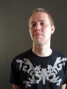 Musiker, og nå også festivalsjef, Thore Warland (foto: Stephan Meidell)