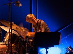 Atomics nye trommeslager Hans Hulbækmo (foto: Pål Buset)