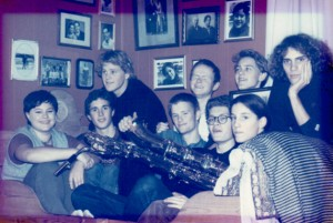 Jaga Jazzist i 1995 (foto: Berit S+©mme Hammer)