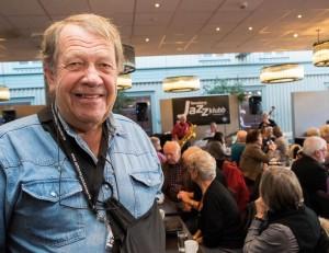 Arvid Jespersen leder Norges største jazzklubb, Tønsberg Jazzklubb, på tredje året, og tar gjenvalg også inn mot 10-årsjubileet i 2016. (foto: Terje Mosnes)
