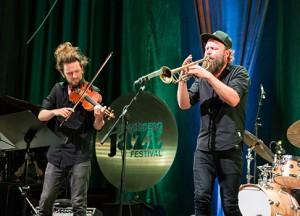 Prisvinnerkonsert med Mathias Eick. Foto: Thomas Hegna.