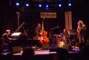 Helsinki Songs, f.v. Kristjan Randalu, Mats Eilertsen, Marku Ounaskari, Trygve Seim.  Foto: Terje Mosnes.
