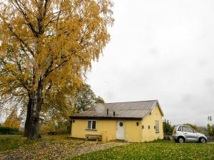 Barnas Jazzhus - en idyllisk gul oase midt i tjukkeste Oslo. (foto: Terje Mosnes)