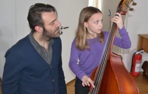 Workshop med Mats Eilertsen på Barnas Jazzhus (foto: Improbasen)