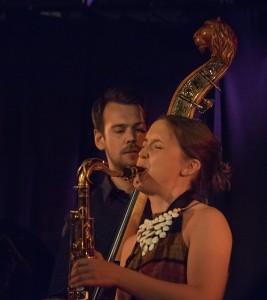 Hanna Paulsberg og Trygve Waldemar Fiske - fint fra den nye plata. (foto: Terje Mosnes)