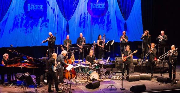 Ensemble Denada med Arild Andersen –  vellykket satsing. (foto: Terje Mosnes)