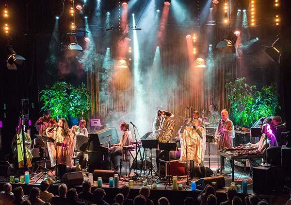 Trondheim Jazzorkester og Skrap. (foto: Terje Mosnes)