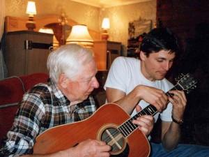 Jon Larsen møtte Robert Normann første gang på midten av åttitallet. (foto: privat)