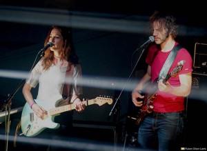Band of Gold: Nina Elisabeth Mortvedt og Nikolai Hængsle Eilertsen (foto: Ruben Olsen Lærk)