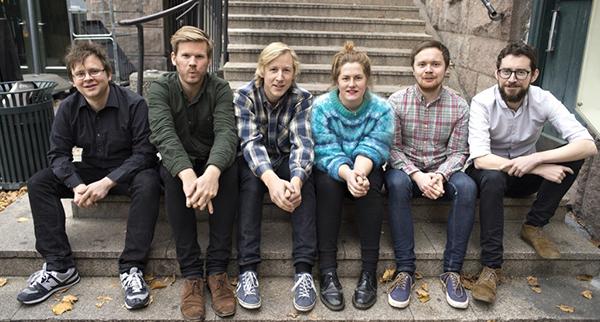 Significant Time (fra venstre): Øyvind Dahle (piano), André Roligheten (treblås), Fredrik L. Dietrichson (bass), Signe Irene Time (vokal), Raymond S. Lavik (trommer) og Hayden Powell (trompet) .