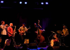 VINNERE: Med Mopti under Oslo Jazzfestival 2012, en liten måned etter seieren i Jazzintro/Årets Unge Jazzmusiker-finalen på Moldejazz. (foto: Terje Mosnes)