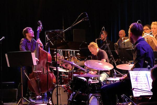 Ole Morten Vågan og Trondheim Jazzorkester på Nasjonal jazzscene, Victoria.