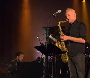 Petter Wettre og Jason Rebello – musikalske tvillingsjeler? Foto: Terje Mosnes