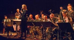 Maria Schneider med Denada på Nasjonal Jazzscene i 2014. Foto: Terje Mosnes
