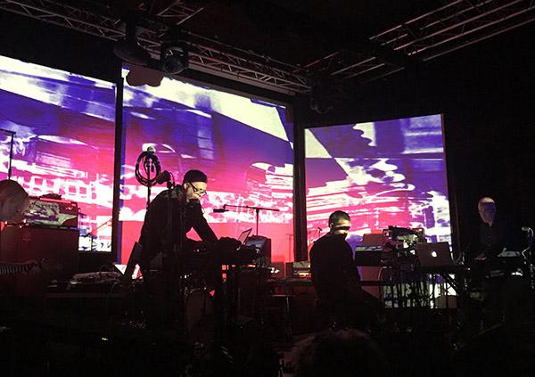 Live Remix: Audun Kleive/Eivind Aarset/Jan Bang/Erik Honoré/Arve Henriksen (foto: Øyvind Skjerven Larsen)