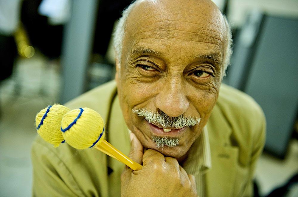 """Mulatu Astatke, kjent som opphavsmannen til """"ethio-jazz"""", åpner Cosmopolites jubileumsfestival 9. november. (pressefoto)"""