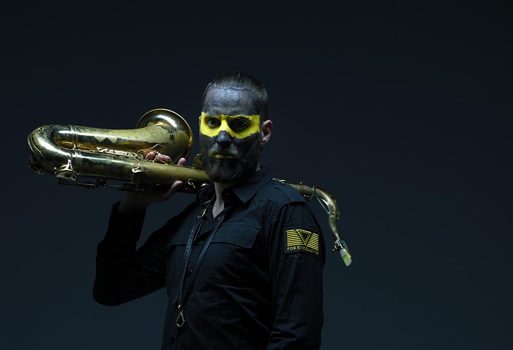 Jørgen Munkeby fikk Rolf Gammleng-prisen i kategorien Jazz/metal/impro. (pressefoto: Alexander Benjaminsen)