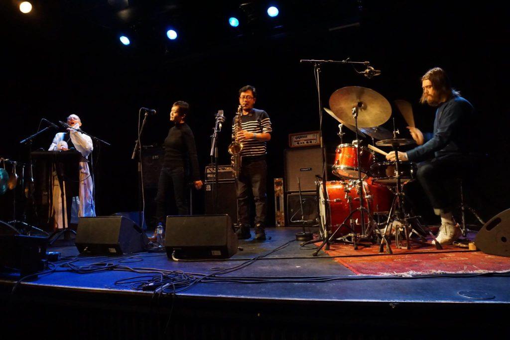 Fra venstre: Natalie Sandtorv, Siew-Wai Kok, Yong Yandsen og Ole Mofjell  (foto:  Tuulia Kallio/All Ears)
