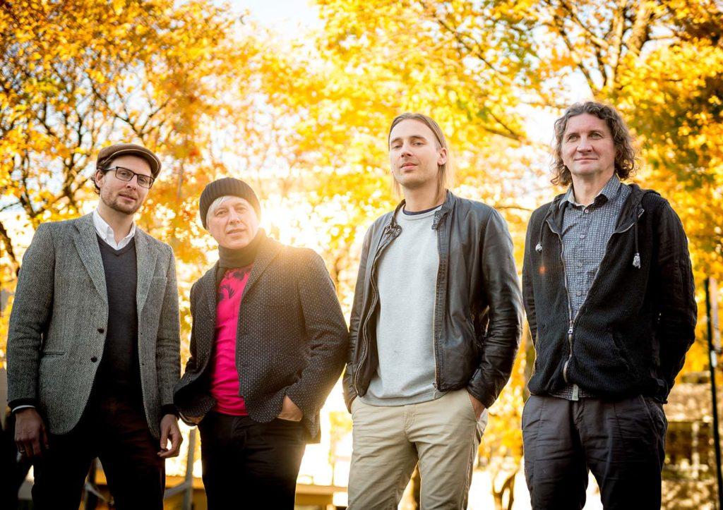 TRESKATRESK, fra venstre: Ola Asdahl Rokkones,  Andrei Kondakov, Jakop Janssønn og Vladimir Volkov. Foto: Bjørn Leirvik