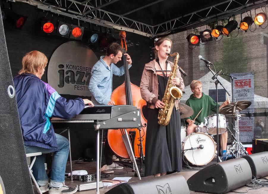 Hanna Paulsberg Concept festivaldebuterer på Kongsberg Jazzfestival i 2011 (foto: Terje Mosnes)