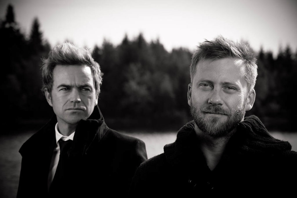 Gunnar Halle (til venstre) og Espen Eriksen. Foto: Freddy Wike