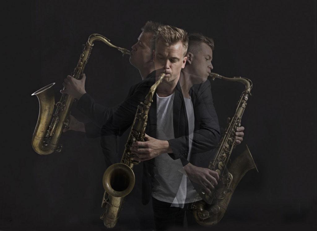 Marius Neset skal spille sammen med Stavanger Symfoniorkester under Maijazz 2019 (pressefoto)