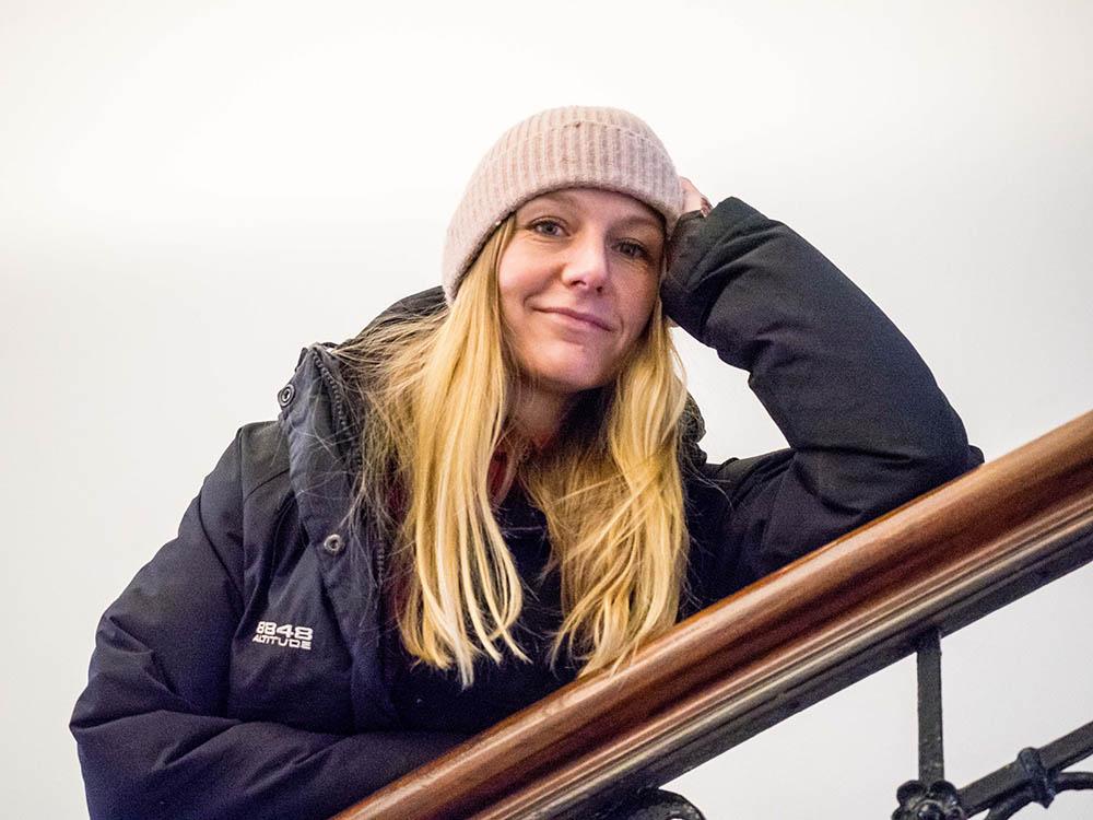 KOMPONERER: Hedvig Mollestad Thomassen skal bruke vinteren til å konsertere med musikken fra det nye trioalbumet, samt ferdigstille Vossa Jazz-tingingsverket. Foto: Terje Mosnes