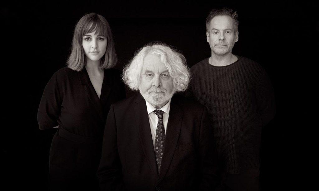 Ine Hoem, Edvard Hoem og Erlend Skomsvoll. Foto: CF Wesenberg