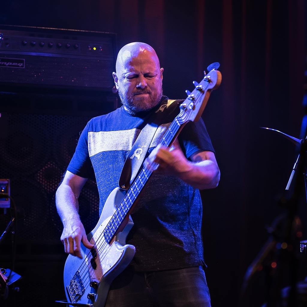 Buddyprisvinner Ingebrigt Håker Flaten fra konserten med Krokofant på Dokkhuset 23. februar 2019. Foto: Arne Hauge