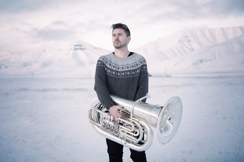 Daniel Herskedals «Voyage» kan høres i Molde domkirke under Moldejazz 2019 (pressefoto: Knut Aaserud)