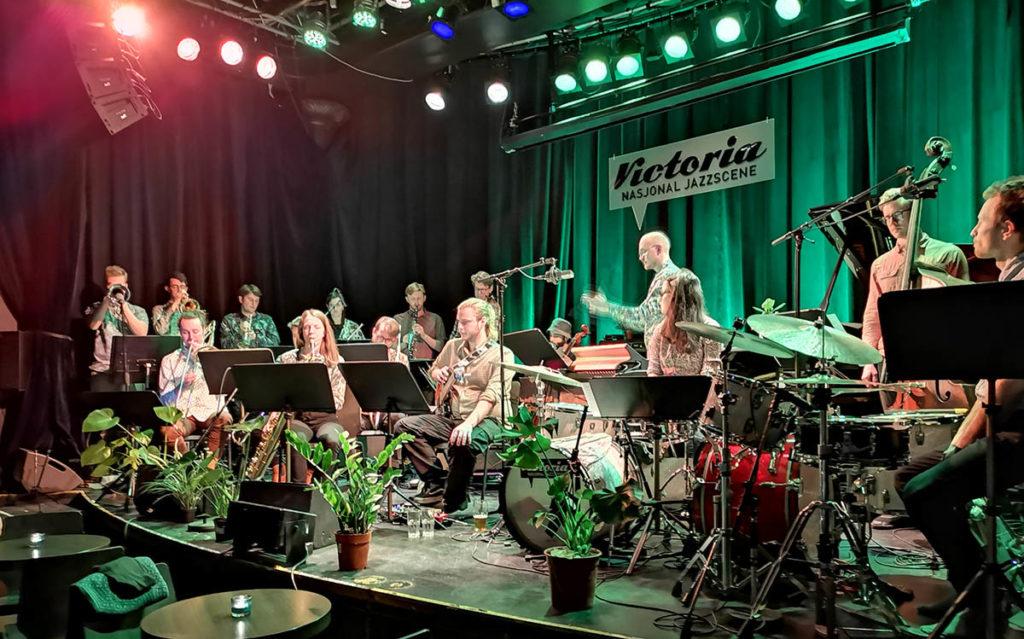 OJKOS -  Orkesteret for jazzkomponister i Oslo. Foto: Tine Hvidsten