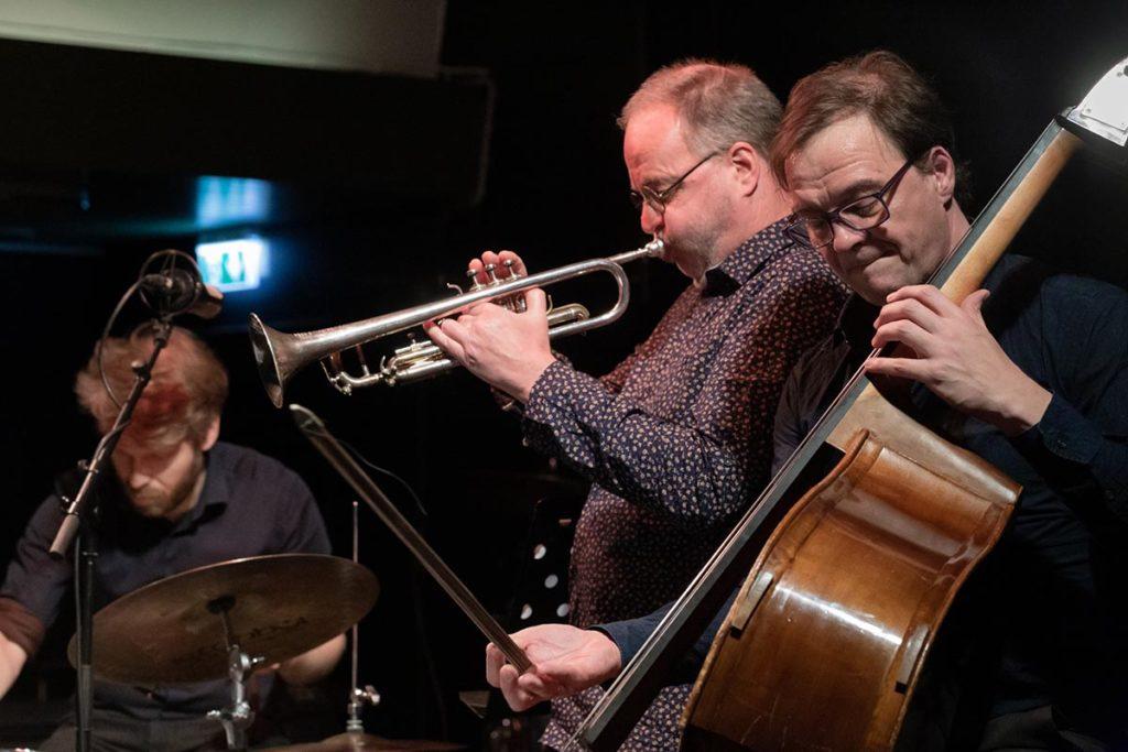 Berlin Trio, fra venstre: Dag Magnus Narvesen, Didrik Ingvaldsen og Jan Roder. Foto: Erik Eiane/Majazz