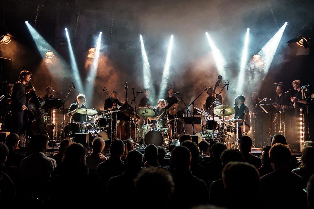 Gard Nilssen's Supersonic Orchestra. Foto: Thor Egil Leirtrø/Moldejazz