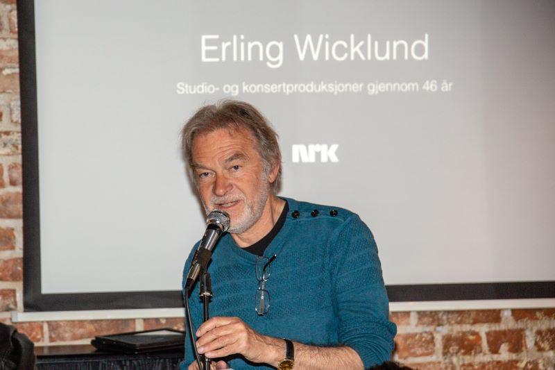 Erling Wicklund i Oslo Jazz Circle 6. mai 2014. Foto: Harald Opheim