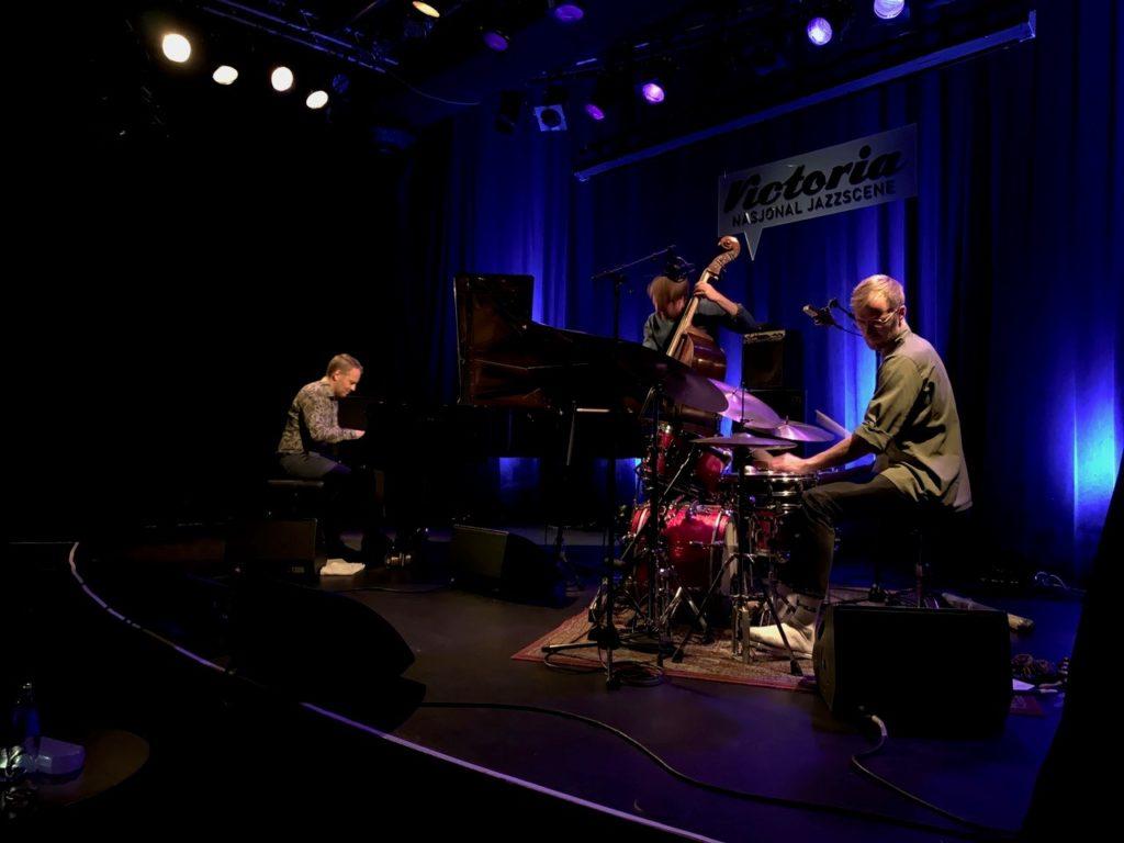 Espen Berg Trio på Nasjonal jazzscene, Victoria. Foto: Torkjell Hovland