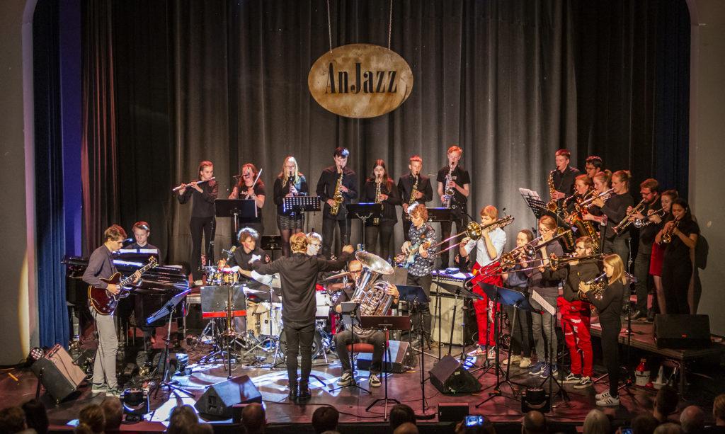 Samspill i storformat med IJO Ung og BUVUS på Anjazz, Hamar, 2019. Foto: Arnfinn Johnsen
