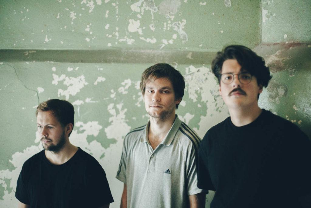 Årets unge jazzmusikere 2018, fra venstre: Øyvind Leite, Amund Storløkken Åse og Nicolas Leirtrø. Foto: Ane Marthe Tømmerås