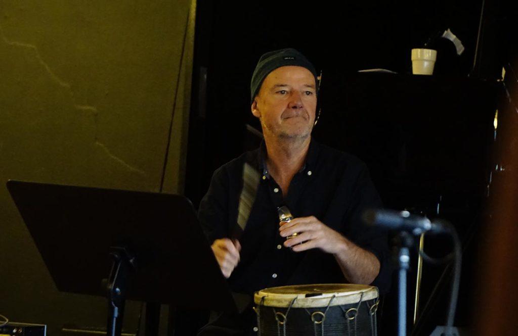 Jon Balke på øving i Stavanger tidligere denne uka. Foto: Johnny N. Prøis