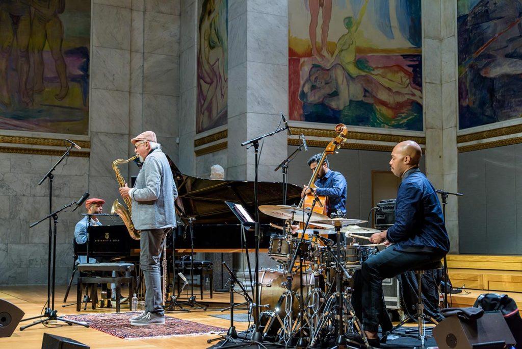 Charles Lloyd i Oslo i 2016. Søndag er han her igjen. Foto: Egil Austrheim/Oslo Jazzfestival
