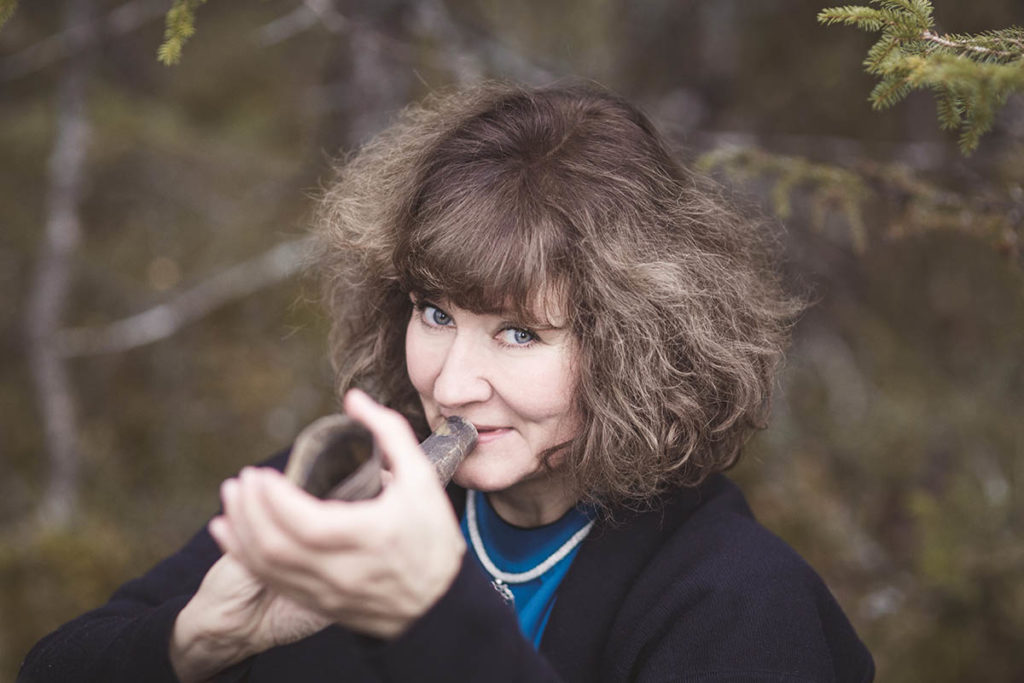 Hildegunn Øiseth Quartet slipper ny plate våren 2020 og legger slippturneen innom Vossa Jazz. (pressefoto)