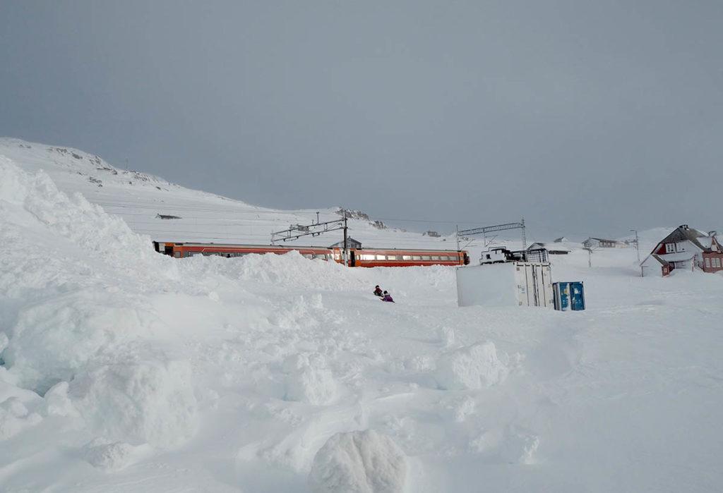 Finse stasjon, 1222 meter over havet. Foto: Susanne Lohne Iversen