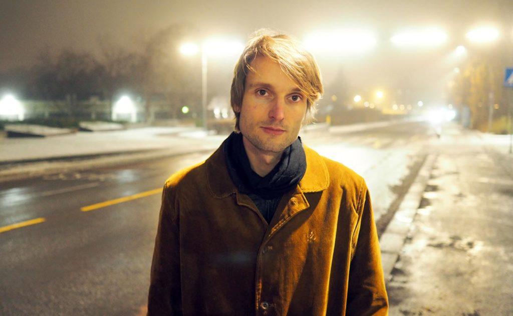 Christian Winther har skrevet bestillingsverket Urfuglen for Motvindfestivalen, og spiller også i Jonas Cambiens verk. Foto: presse