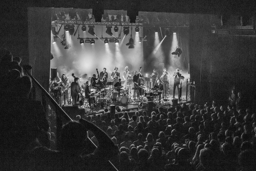 Supersonic Orchestra under Moldejazz 2019. Foto: Harald Opheim