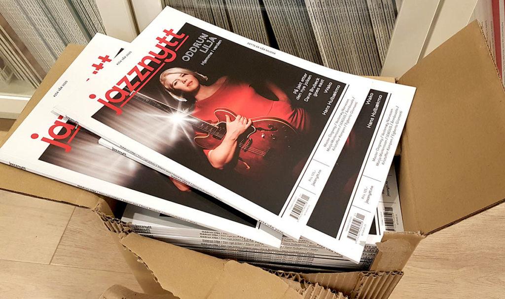 Jazznytt #254 - box fresh! Les en presentasjon av innholdet samt ekstramateriale fra Oddrun Lilja-intervjuet i ukas NTT!