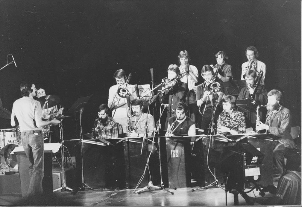 Bodega Band fra Trondheim 1977. Solist: Tore Engstrøm. Foto: BS.