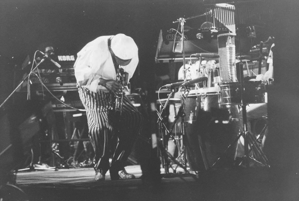 Moldejazz 1984: Miles Davis. Foto: BS