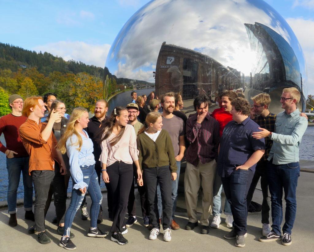 BUVUS - Buskerud og Vestfold ungdomsstorband gir ut sin første plate. Foto: Østnorsk jazzsenter