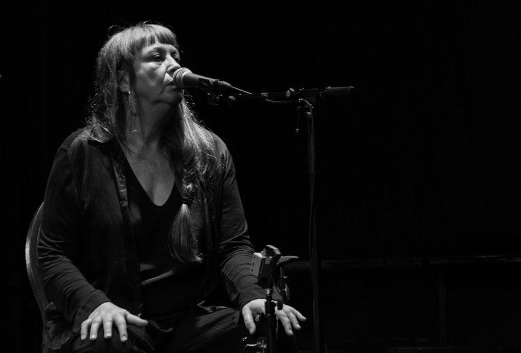 Sidsel Endresen var Artist in Residence i 2014. Foto: Camilla Grünewald/fireflate.no